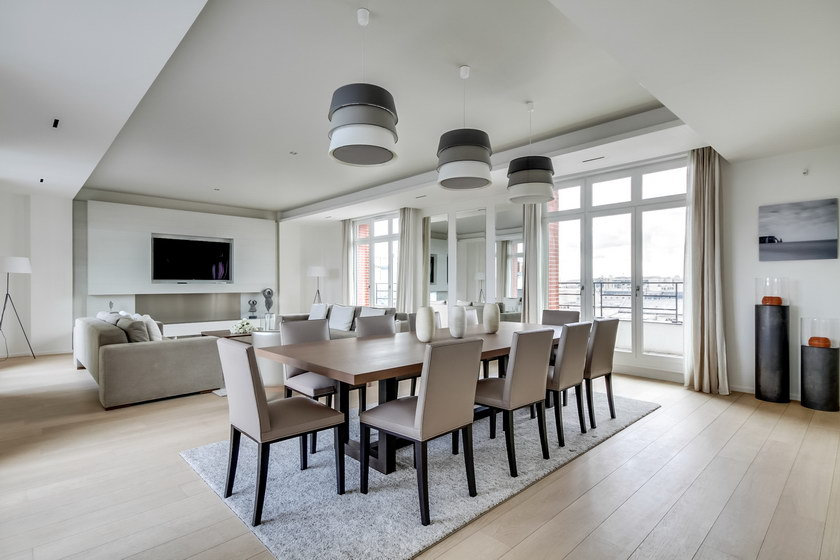 appartement luxe paris 7 me architecte m dical. Black Bedroom Furniture Sets. Home Design Ideas